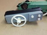 Железная машинка на управлении и батарейках из далекого СССР. Модные номера., фото №8
