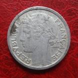 1 франк 1946 В  Франция     ($7.4.28)~, фото №3