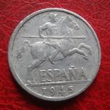 10 сантим 1945 Испания (7.4.30)~, фото №2