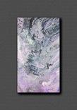 Картина. Абстракция. Сиреневое танго. 40х70, фото №2