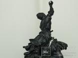 Джигитовка СССР 1962 г. Касли В. Торокин Чугун Литье, фото №8
