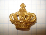 Кокарда - корона - армия Голландии (тяж.металл), фото №2