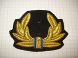 Краб, кокарда шитая ВМС Украины, фото №2