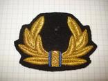 Краб, кокарда шитая ВМС Украины, фото №3
