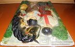 Гіпсовий барельєф картина панно Козак та дівчина закохані, фото №7