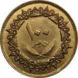 Ливия. 100 дирхам 1979 г. aUNC, фото №3