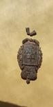 Кокарда полицейского Херсонской губернии с остатками позолоты, фото №10