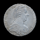 Талер 1780 Мария Терезия, Австрия Рестрайк, фото №3