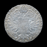 Талер 1780 Мария Терезия, Австрия Рестрайк, фото №2