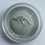 100 $ 2018 год Австралия «Кенгуру» платина 31,1 грамм 999,5', фото №2