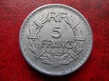 5 франков 1947  Франция   ($5.7.1)~, фото №2