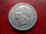 5 франков 1947  Франция   ($5.7.1)~, фото №4