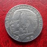 1  крона  1979  Швеция   (7.7.18), фото №2