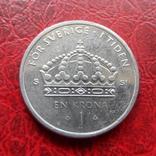 1  крона  2012  Швеция   (5.7.20), фото №2