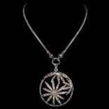 Ожерелье в стиле *винтаж* с марказитами, фото №2