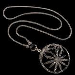 Ожерелье в стиле *винтаж* с марказитами, фото №3