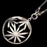 Ожерелье в стиле *винтаж* с марказитами, фото №4