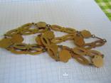 Колье латунь,эмаль., фото №5