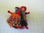 Брошь шитая в виде танцующей пары., фото №2