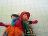 Брошь шитая в виде танцующей пары., фото №9