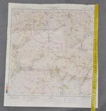 Карта Генштаб Кантемировка М-37-XXII, фото №2