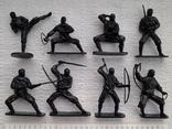 Солдатики, нинзя - 8 штук, фото №2
