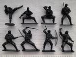 Солдатики, нинзя - 8 штук, фото №3