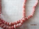Бусы розовый коралл, фото №5
