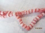 Бусы розовый коралл, фото №7