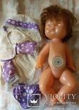 Кукла СССР младенец в родной одежде, фото №4
