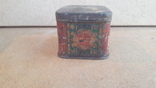 Коробка чайница Чай грузинский наркомпищепром цена чая 5руб чайницы 56к, фото №5