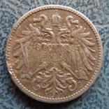 10 геллеров 1909  Австро-Венгрия     (9.3.15)~, фото №3