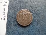 10 геллеров 1909  Австро-Венгрия     (9.3.15)~, фото №4