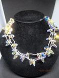 Ожерелье Cваровски серебро 925, фото №3