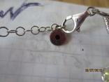 Ожерелье Cваровски серебро 925, фото №8