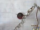 Ожерелье Cваровски серебро 925, фото №9