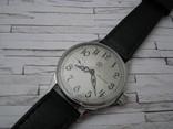 Часы Молния, наручные. Ремешок кожанный новый., фото №2