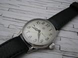 Часы Молния, наручные. Ремешок кожанный новый., фото №3