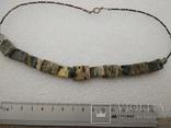 Ожерелье колье яшма, фото №5