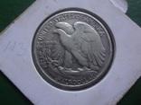 50 центов 1943 США серебро  Холдер 113~, фото №3