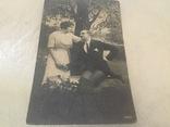 Старинная открытка, фото №2