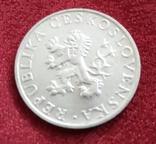 Чехословаччина 10 крон 1955 рік 10 років звільненню Чехословакії фото 2