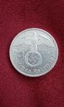 Германія 5 марок 1937 рік (Е)