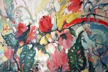 """""""Tropical flowers"""" большая картина маслом 1800х1350 мм Ю. Смаль фото 4"""