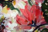 """""""Tropical flowers"""" большая картина маслом 1800х1350 мм Ю. Смаль фото 7"""