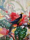 """""""Tropical flowers"""" большая картина маслом 1800х1350 мм Ю. Смаль фото 8"""