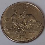 США ¼ долара, 2005 Квотер штату Каліфорнія
