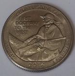 США ¼ долара, 2016 Національний історичний парк Камберленд-Геп