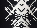 Черная футболка с оригинальным узором. Готовность - 7 дней фото 4