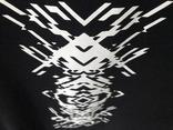 Черная футболка с оригинальным узором. Готовность - 7 дней фото 5